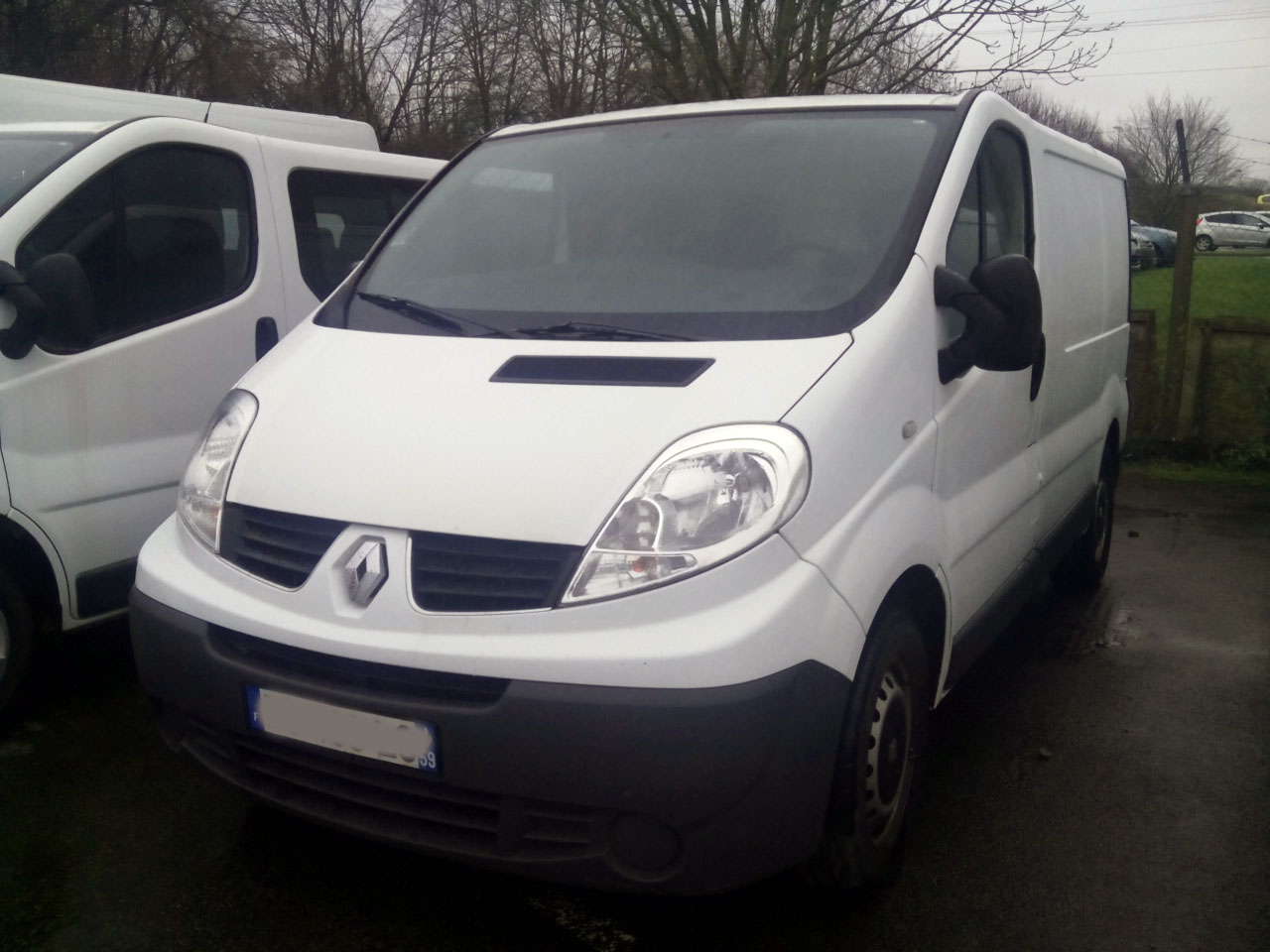 voiture occasion Renault Trafic